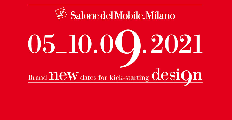 Выставка Salone del mobile в Милане в сентябре 2021
